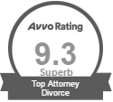 Avvo rating 9.3 Superb Top Attorney Divorce